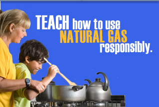Natural Gas Safety-SMART!